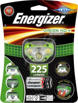 Фонарь ENERGIZER HL Vision HD + 3xAAA 225 лм в интернет магазине Rybaki.ru
