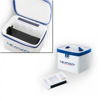 Комплект MEIHO Сумка Versus VS-E6552 цв. белый с коробкой Versus VS-3010NDM в интернет магазине Rybaki.ru