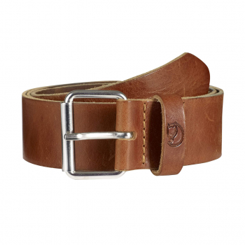 Ремень FJALLRAVEN Singi Belt 4 cm цвет Leather Cognac