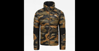 Куртка THE NORTH FACE Men's Crimptastic Hybrid Down Jacket цвет Burnt Olive Green Waxed Camo