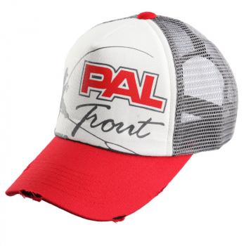 Бейсболка ZETRIX PAL Trout Cap цвет Красный / серый