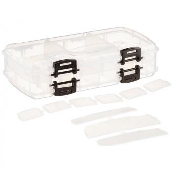 Коробка PLANO 3450-22 Коробка двухсторонняя для приманок,12-18 отсеков в интернет магазине Rybaki.ru
