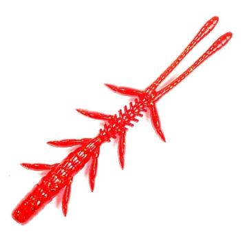 """Креатура JACKALL Scissor Comb 3,0"""" (8 шт.) red gold flake"""
