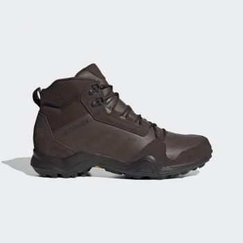 Ботинки ADIDAS Terrex Ax3 Mid Lea цвет Brown / Night Brown / Core Black