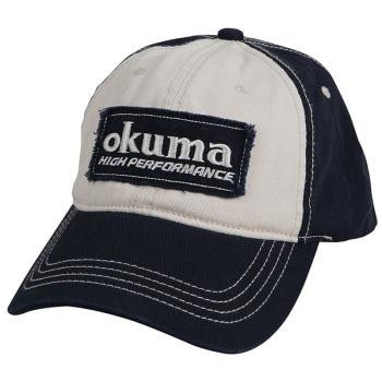 Кепка OKUMA Full Back Two Tone Blue Patch Hat в интернет магазине Rybaki.ru