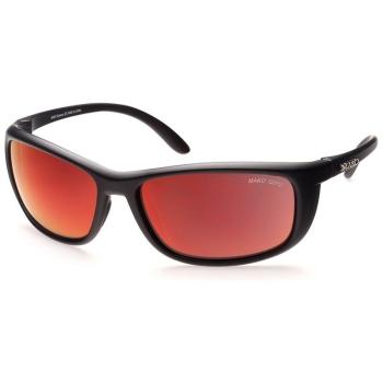 Очки солнцезащитные MAKO Blade цв. Black цв. стекла Glass Grey HD Red Mirror в интернет магазине Rybaki.ru