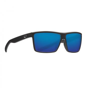 Очки поляризационные COSTA DEL MAR Rinconcito 580P р. M цв. Matte Black цв. ст. Blue Mirror