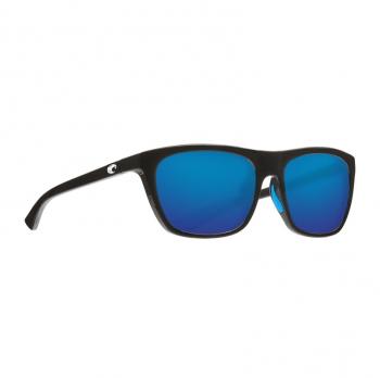 Очки поляризационные COSTA DEL MAR Cheeca 580G р. S цв. Shiny Black цв. ст. Blue Mirror