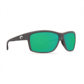Очки COSTA DEL MAR Mag Bay 580 GLS р. XL цв. Matte Gray цв. ст. Green Mirror