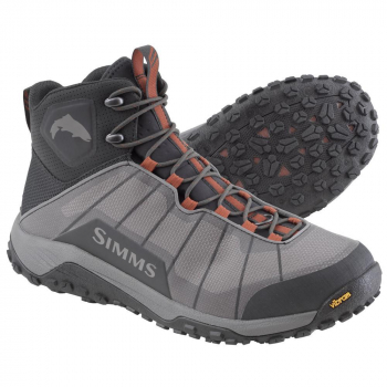 Ботинки SIMMS Flyweight Boot цвет Steel Grey