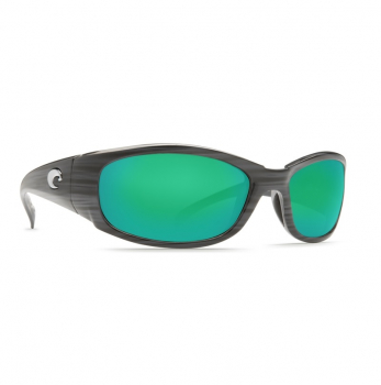 Очки поляризационные COSTA DEL MAR Hammerhead W580 р. XL цв. Silver Teak цв. ст. Green Mirror Glass