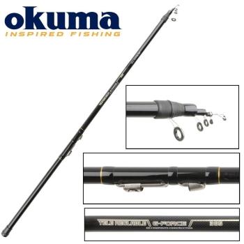 Удилище болонское OKUMA G-Force TeleReglable 4,85 м тест 10 - 20 г