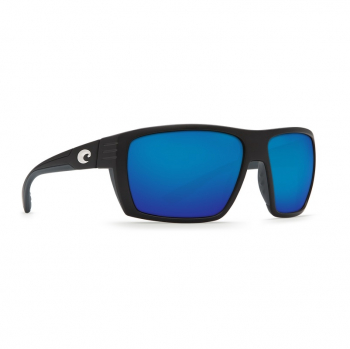 Очки поляризационные COSTA DEL MAR Hamlin 580P р. XL цв. Matte Black цв. ст. Blue Mirror