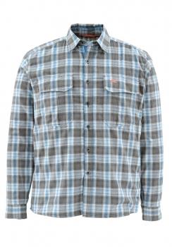 Рубашка SIMMS Coldweather LS Shirt цвет Tidal Blue Plaid