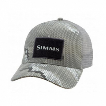 Кепка SIMMS High Crown Trucker цв. Hex Camo Boulder