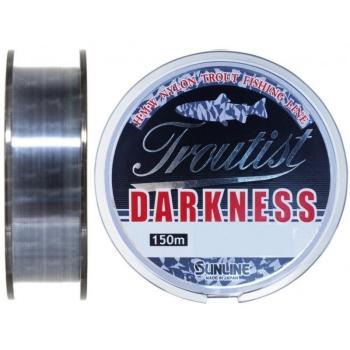 Леска SUNLINE Troutist Darkness 150 м цв. черный 0,165 мм в интернет магазине Rybaki.ru