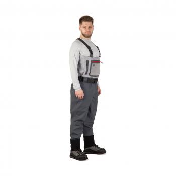 Вейдерсы FHM Brook цвет Серый / Светло-серый