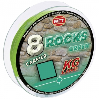 Плетенка WFT 8 Rocks 150 м цв. green 0,14 мм в интернет магазине Rybaki.ru