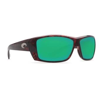 Очки поляризационные COSTA DEL MAR Cat Cay 580P р. L цв. Tortoise цв. ст. Green Mirror