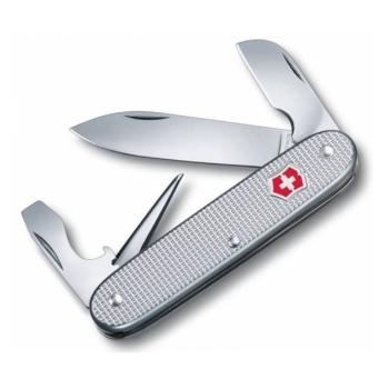 Нож VICTORINOX Electrician Alox 93мм 7 функций цв. серебристый