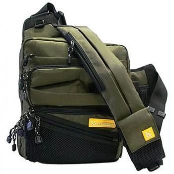 Сумка GEECRACK GEE23110 Shoulder Bag код цв. 005 цв. khaki в интернет магазине Rybaki.ru