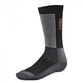 Носки HARKILA Trekking II sock цвет Black