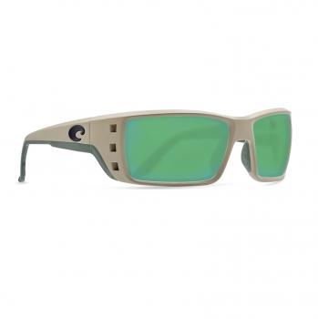 Очки поляризационные COSTA DEL MAR Permit 580G р. XL цв. Sand цв. ст. Green Mirror