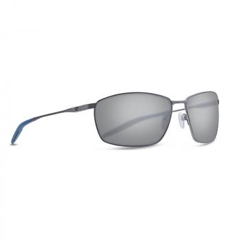 Очки поляризационные COSTA DEL MAR Turret 580P р. M цв. Matte Dark Gunmetal + Deep Blue/Black цв. ст. Gray Silver Mirror