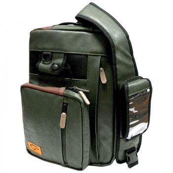 Сумка GEECRACK GEE610 Safari Shoulder Bag цв. moss-green в интернет магазине Rybaki.ru