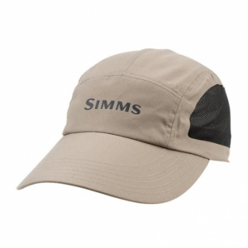Кепка SIMMS Microfiber Long Bill Cap цв. River Rock