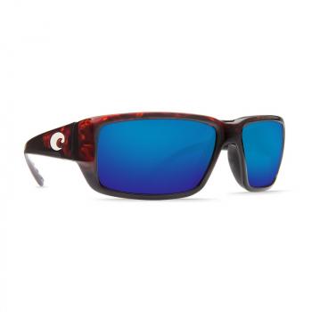 Очки поляризационные COSTA DEL MAR Fantail 580P р. M цв. Tortoise цв. ст. Blue Mirror