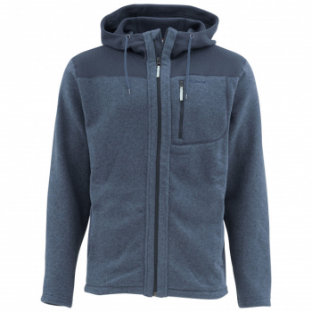 Куртка SIMMS Rivershed Full Zip Hoody цвет Admiral Blue
