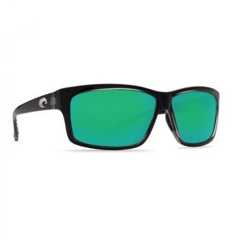 Очки поляризационные COSTA DEL MAR Cut 580P р. L цв. Squall цв. ст. Green Mirror
