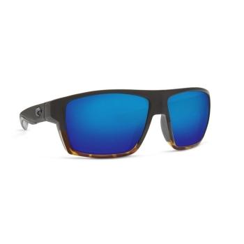 Очки поляризационные COSTA DEL MAR Bloke 580P р. XL цв. Matte Black/Shiny Tortoise цв. ст. Blue Mirror