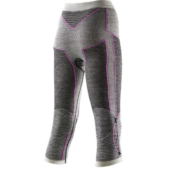Термобрюки X-BIONIC Apani Merino Lady цвет Черный / Серый / Розовый