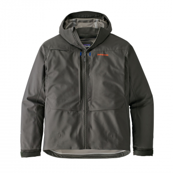 Куртка забродная PATAGONIA Men's River Salt Jacket цвет Forge Grey в интернет магазине Rybaki.ru