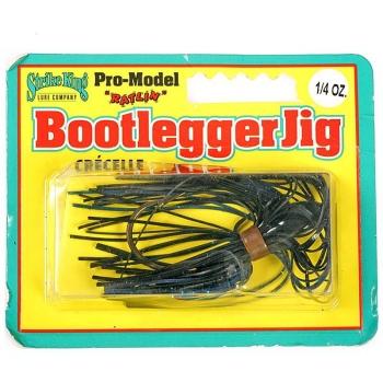 Бактейл STRIKE KING Bootlegger Jig 7 г (1/4 oz) цв. black / blue