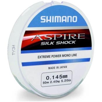 Леска SHIMANO Aspire Silk Shock 50 м д. 0,20 мм в интернет магазине Rybaki.ru