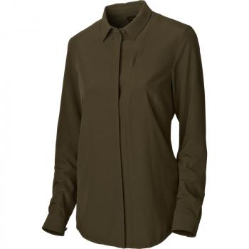 Рубашка HARKILA Herlet Tech Lady Shirt цвет Willow green
