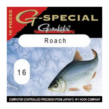 Крючок одинарный GAMAKATSU G-SPECIAL ROACH (10 шт.) № 18