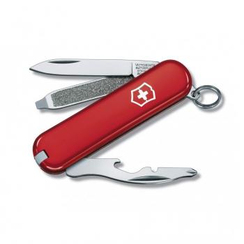 Нож VICTORINOX Rally 58 мм 9 функций цв. красный , подар.коробка