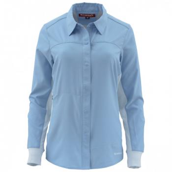 Рубашка SIMMS WS BiComp LS Shirt цвет Faded Denim