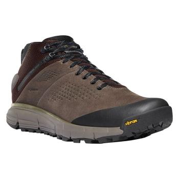 "Ботинки треккинговые DANNER Trail 2650 Mid 4"" GTX цвет Brown / Military Green"