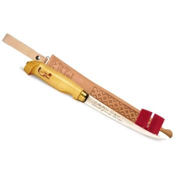 Нож филейный RAPALA FNF4, (лезвие 10 см, дерев. рукоятка) в интернет магазине Rybaki.ru