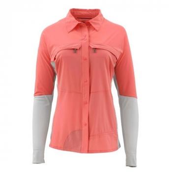Рубашка SIMMS Women's Pro Reina Shirt цвет Dark Coral