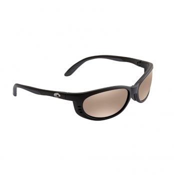 Очки поляризационные COSTA DEL MAR Fathom 580G р. M цв. Matte Black Global Fit цв. ст. Copper Silver Mirror
