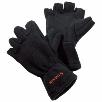 Перчатки SIMMS Freestone Halffinger Glove цвет Black в интернет магазине Rybaki.ru
