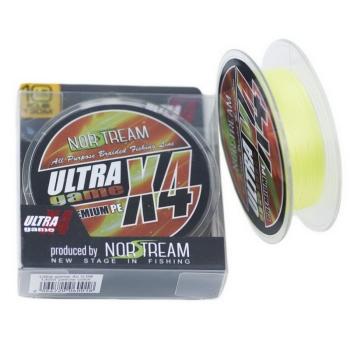 Плетенка NORSTREAM Ultra game 4x #0,6 цв. fluo yellow в интернет магазине Rybaki.ru