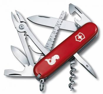 Нож VICTORINOX Angler красный 19 функций 91 мм карт.коробка