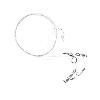 Поводок жерличный ZETTECH 100% Fluoro (5 шт.) (хищник, тройник № 4, дл. 30 см) в интернет магазине Rybaki.ru
